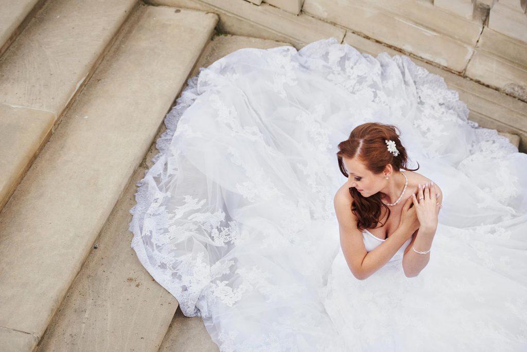 sesja poślubna w parku w wilanowie w warszawie